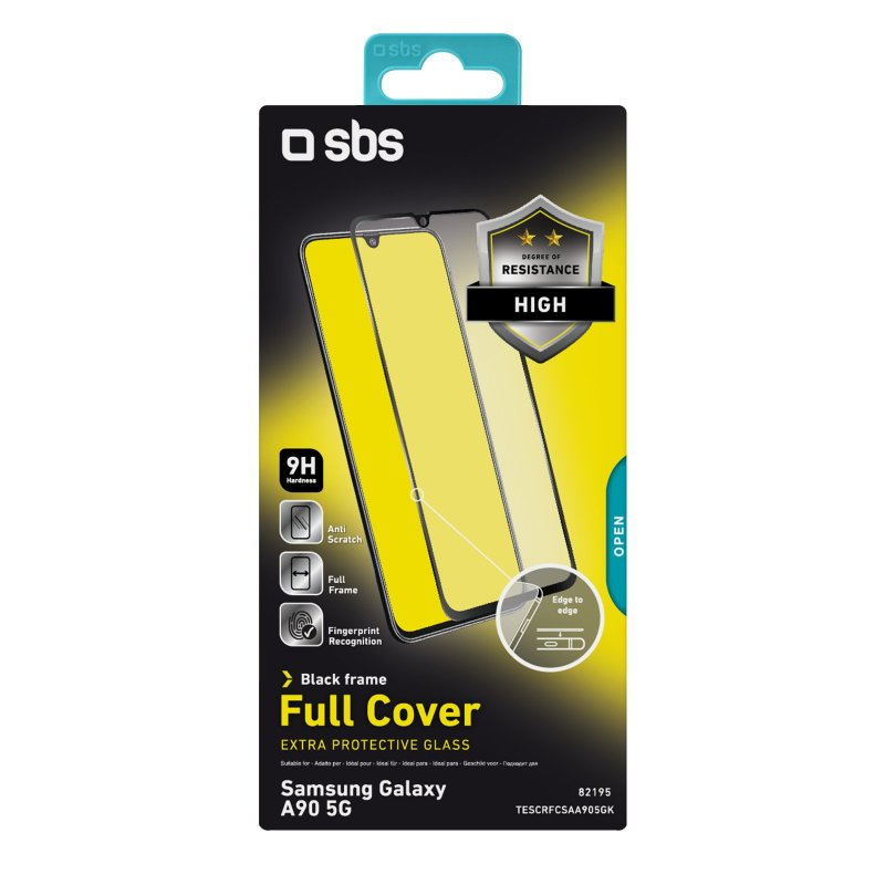 Full Cover Glass Screen Protector for Samsung Galaxy A90 5G