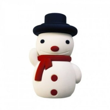 Christmas power bank with snowman design