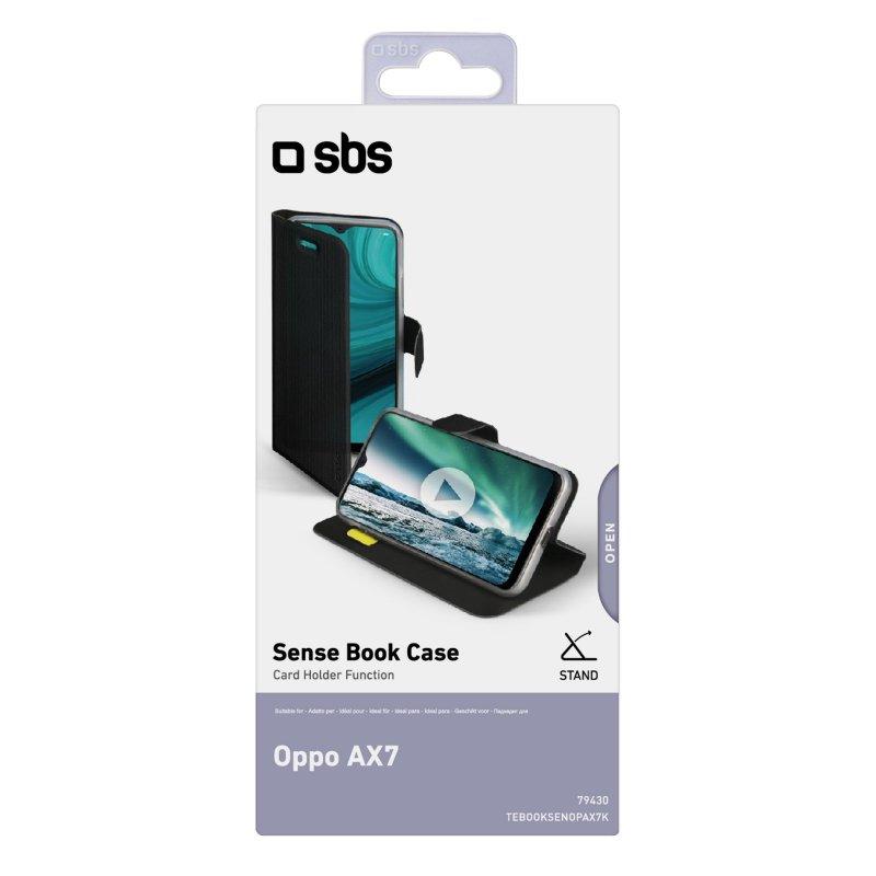 Oppo AX7 Book Sense case