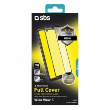Full Cover Glass Screen Protector for Wiko View 3