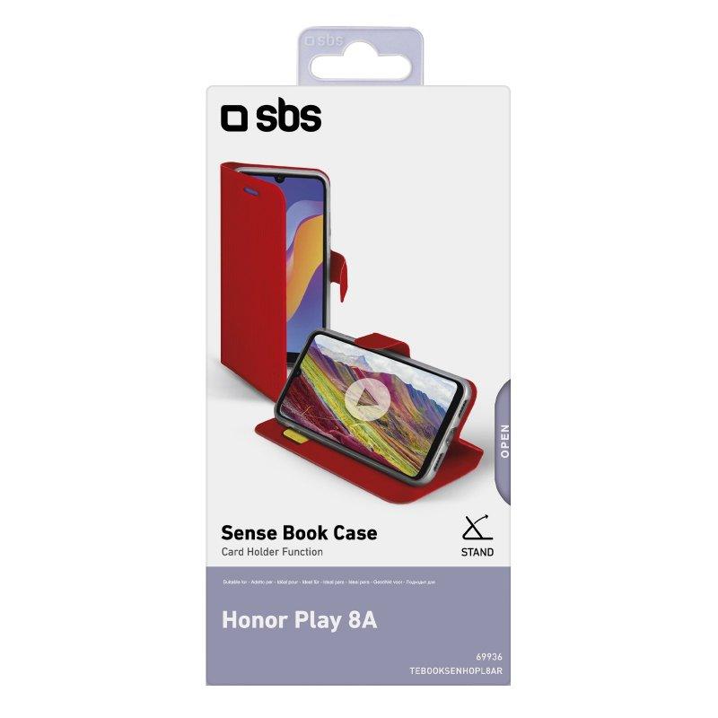 Honor Play 8A Book Sense case