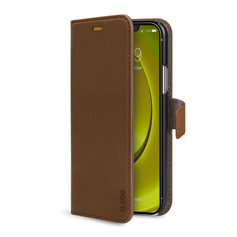 Book Wallet Case with stand function for iPhone 11