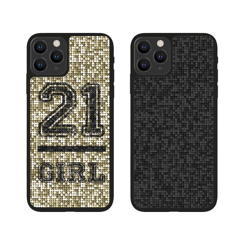 Jolie cover with 21 Girl theme for iPhone 11 Pro