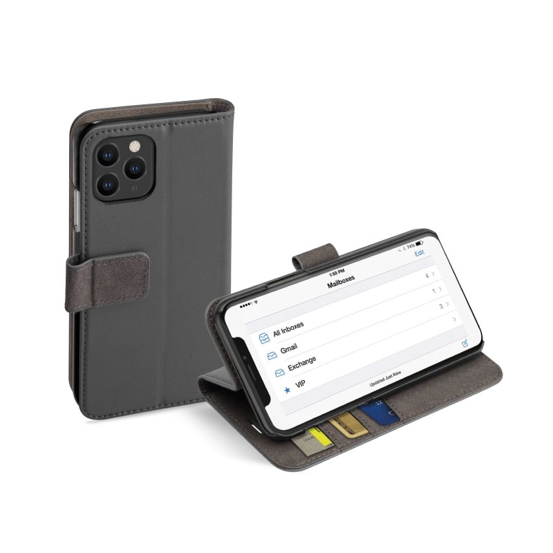 Book Wallet Case with stand function for iPhone 11 Pro Max