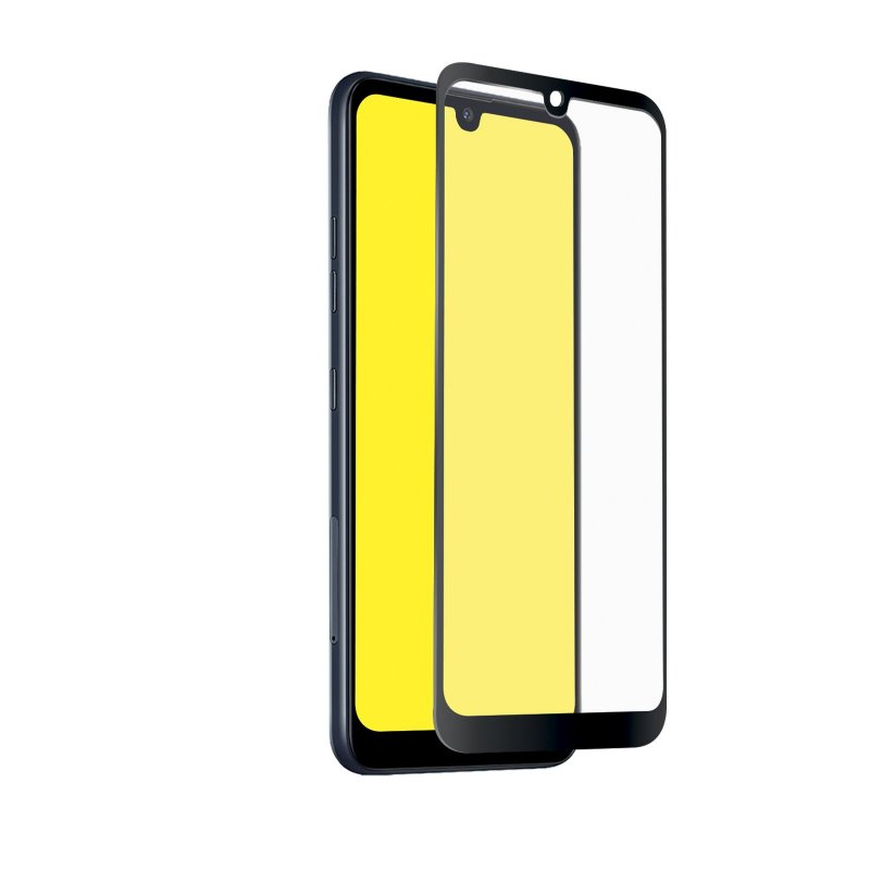 Full Cover Glass Screen Protector for LG Q60/K50