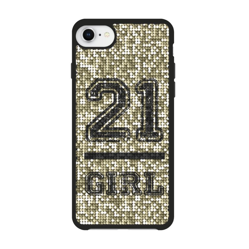 Jolie cover with 21 Girl theme for iPhone 8/7