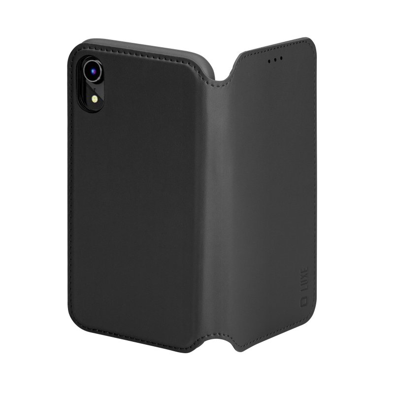 Luxe book-style case for iPhone XR