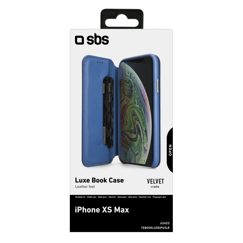 Luxe book-style case for iPhone XS Max
