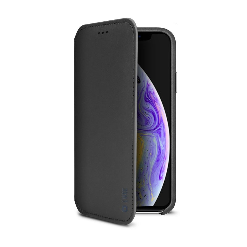 Luxe book-style case for iPhone XS/X