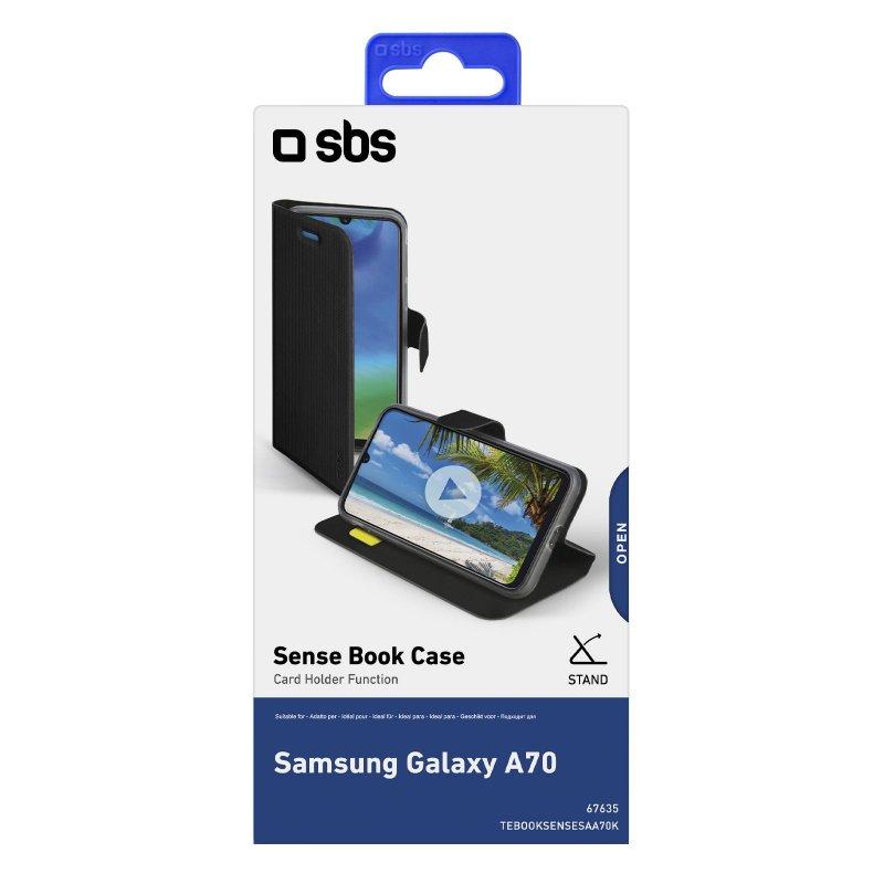 Samsung Galaxy A70 Book Sense case