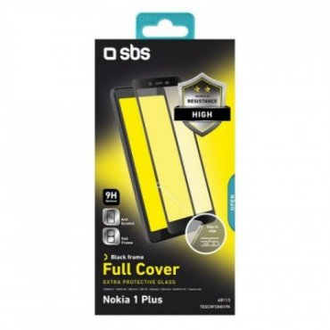 Full Cover Glass Screen Protector for Nokia 1 Plus