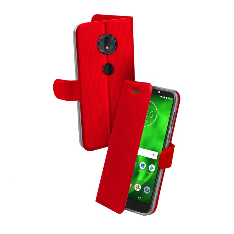 Motorola Moto G6 Play Book Sense case