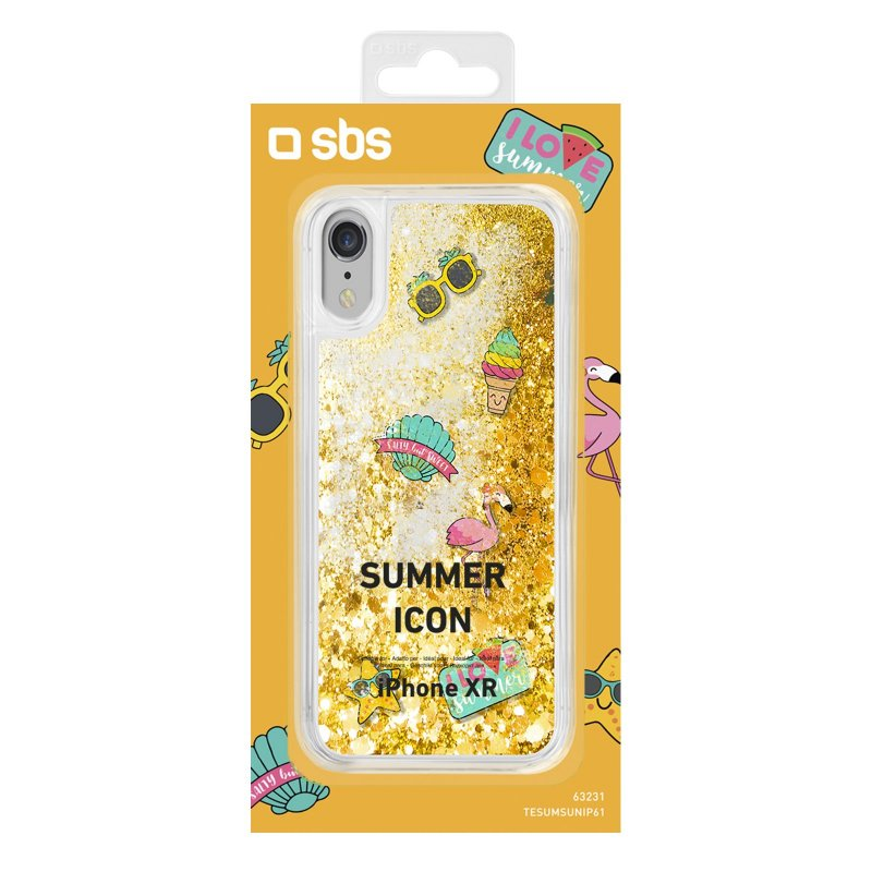 """Sunny"" Summer cover for iPhone XR"