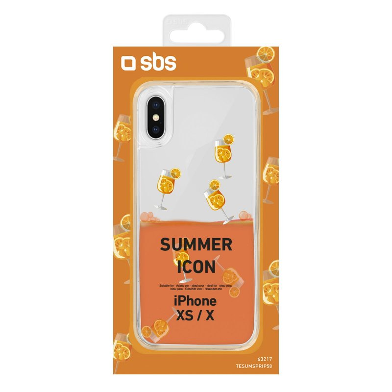 """Spritz"" Summer cover for iPhone XS/X"