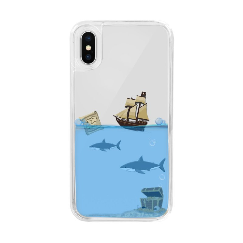 """""""Pirates"""" Summer cover for iPhone XS/X"""
