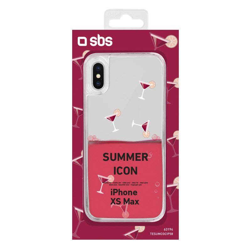 """""""Cocktail"""" Summer cover for iPhone XS Max"""