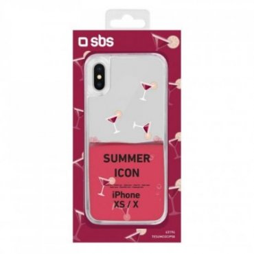 """""""Cocktail"""" Summer cover for iPhone XS/X"""