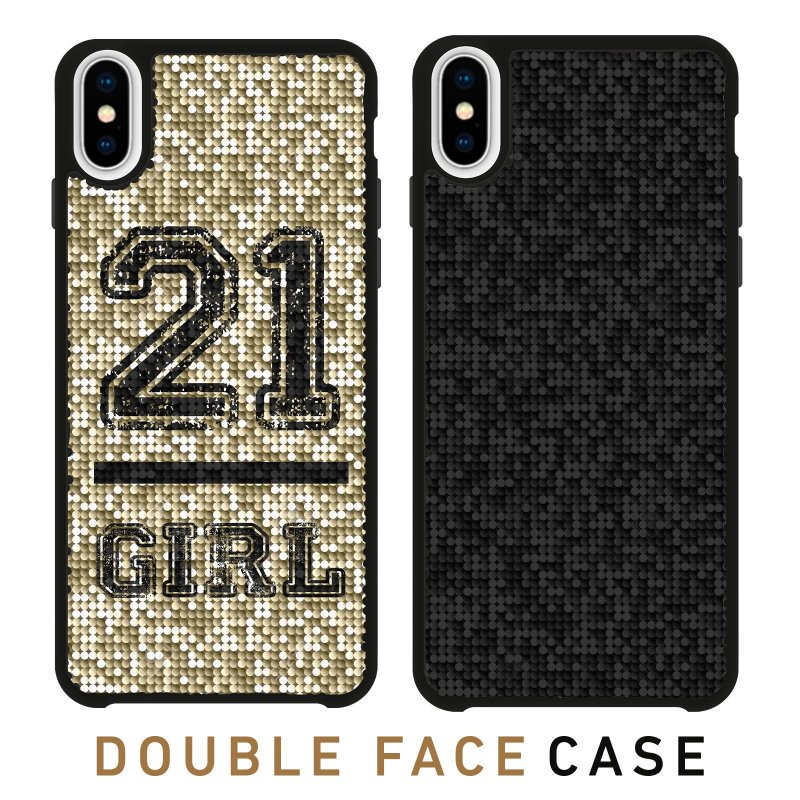 Jolie cover with 21 Girl theme for iPhone XS Max