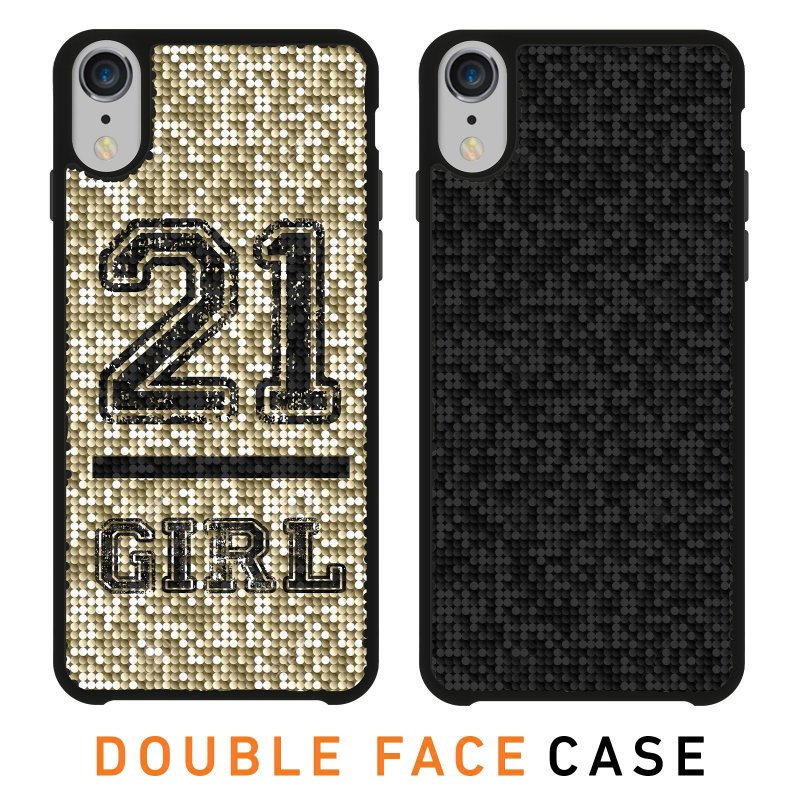 Jolie cover with 21 Girl theme for iPhone XR
