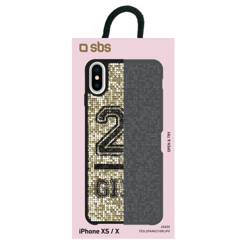Jolie cover with 21 Girl theme for iPhone XS/X