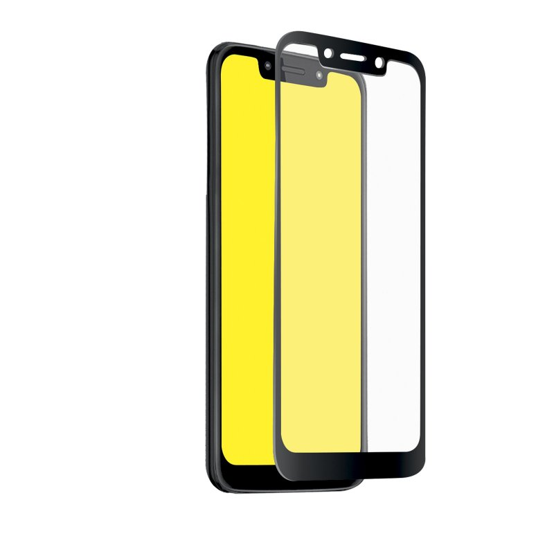 Full Cover Glass Screen Protector for Motorola Moto G7 Play