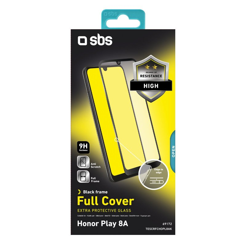 Full Cover Glass Screen Protector for Honor Play 8A