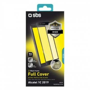 Full Cover Glass Screen Protector for Alcatel 1C 2019