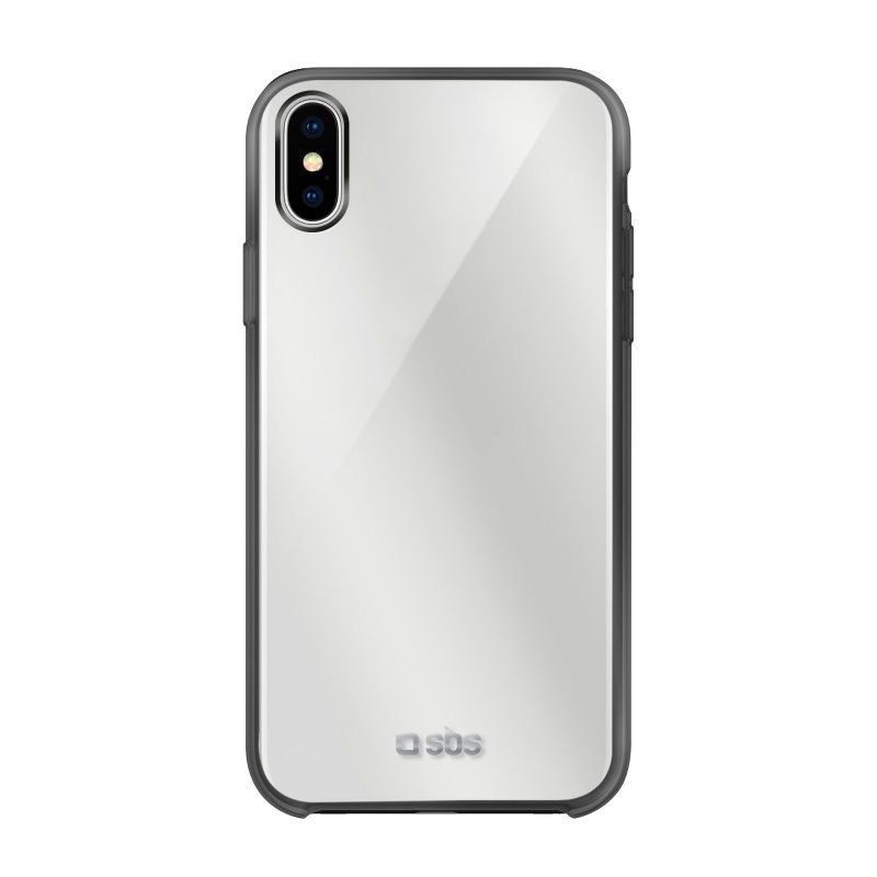 Aluminium and tempered glass cover for iPhone XS/X