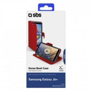 Samsung Galaxy J6+ Book Sense case