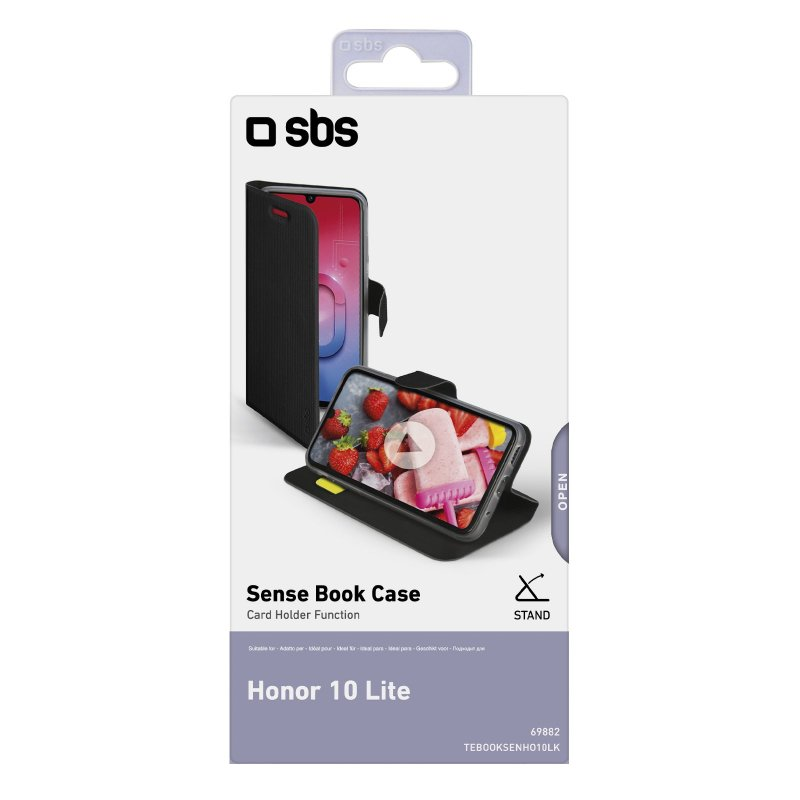 Honor 10 Lite Book Sense case