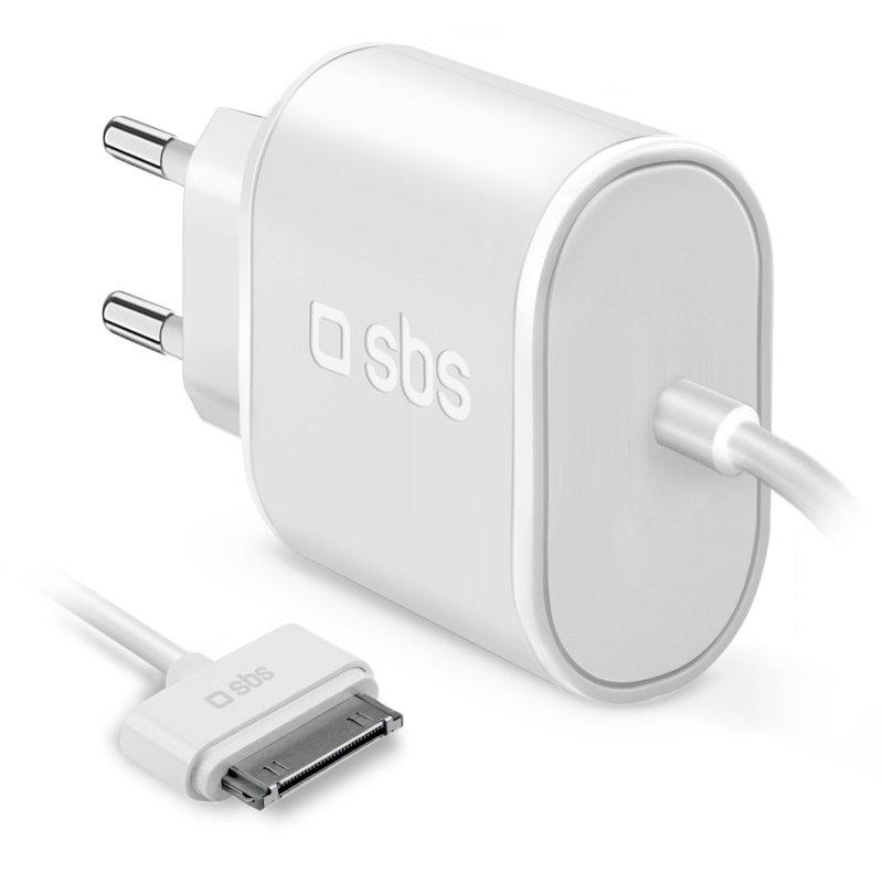 Wall charger with Apple Dock cable