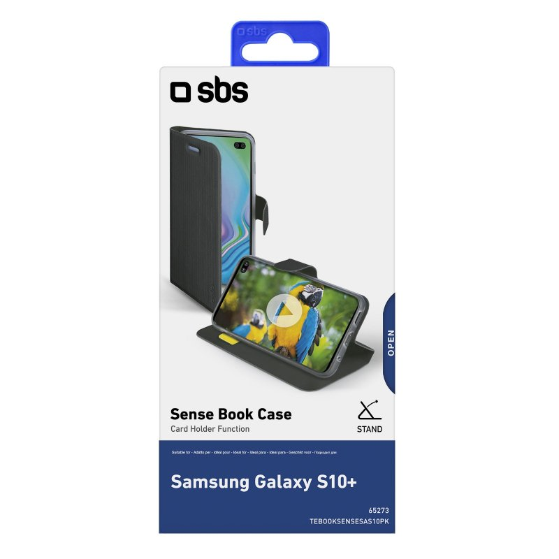 Sense Book case for Samsung Galaxy S10+