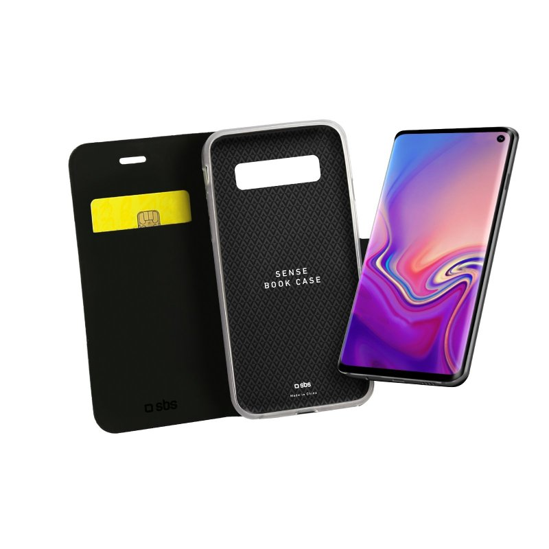 Sense Book case for Samsung Galaxy S10