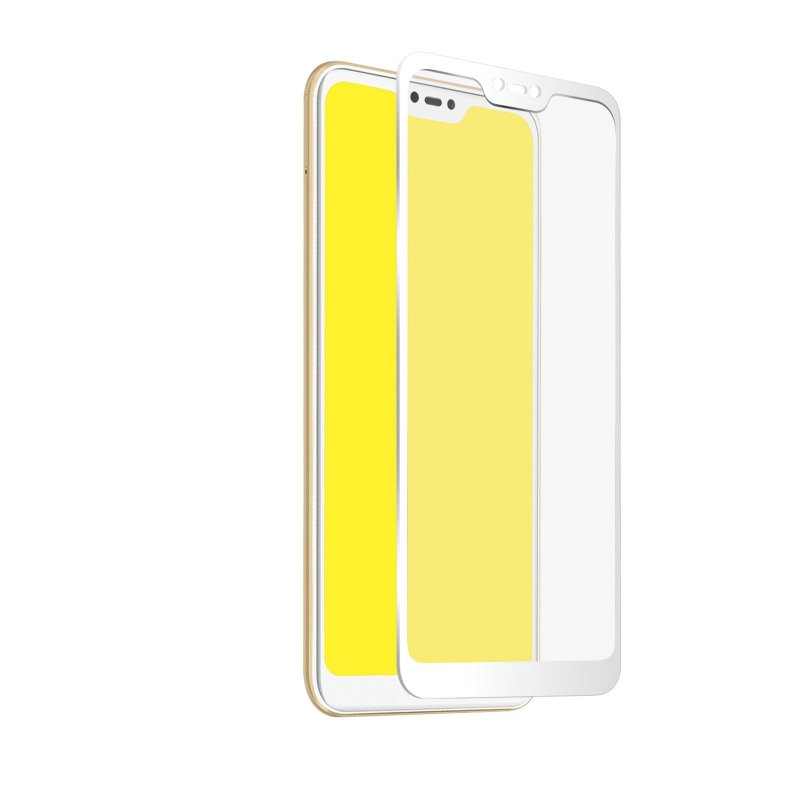 Glass screen protector Full Cover per Xiaomi Mi A2 Lite