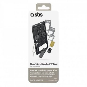 Kit including SIM / TF card adapters