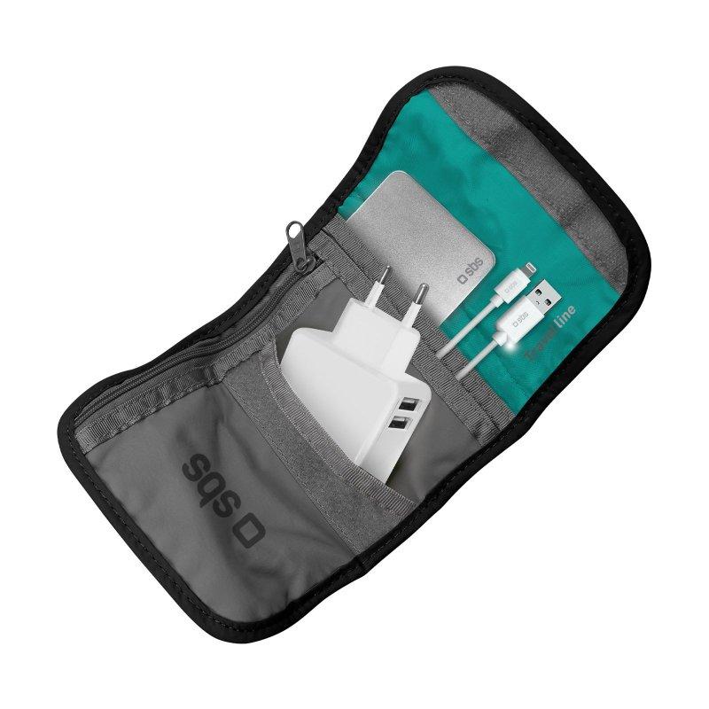 Travel organizer for smartphones