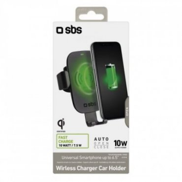 Gravity - Qi certified phone holder for rapid wireless charging