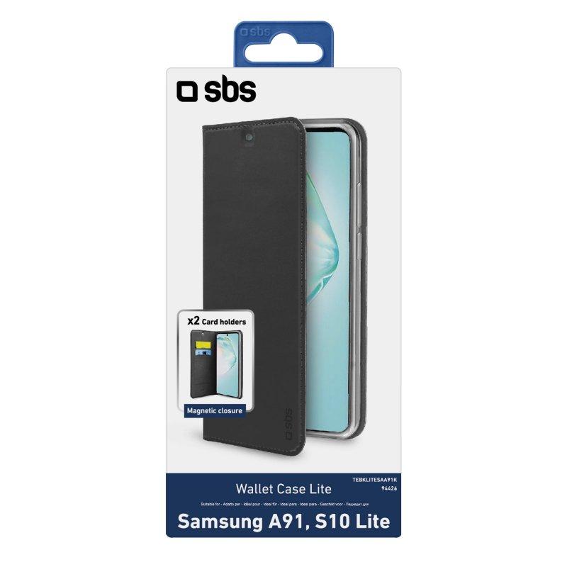 Book Wallet Lite Case for Samsung Galaxy A91/S10 Lite