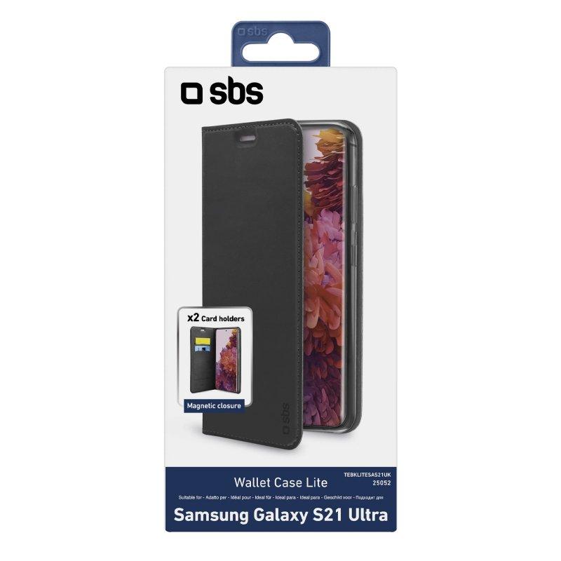 Book Wallet Lite Case for Samsung Galaxy S21 Ultra