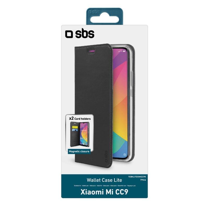 Book Wallet Lite Case for Xiaomi Mi CC9