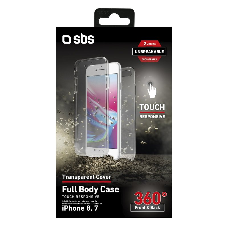 360° Full Body cover for iPhone 8/7 - Unbreakable Collection