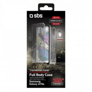 360° Full Body cover for Samsung Galaxy A70e - Unbreakable Collection