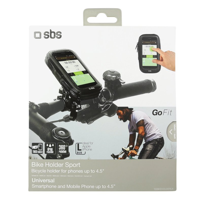 "Bike mount for smartphones up to 4.5\"""