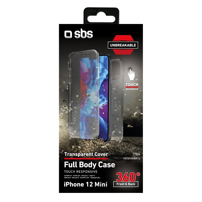 360° Full Body cover for iPhone 12 Mini - Unbreakable Collection