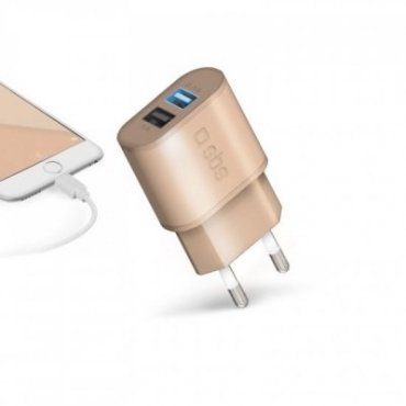 2100 mAh travel charger - Gold Collection