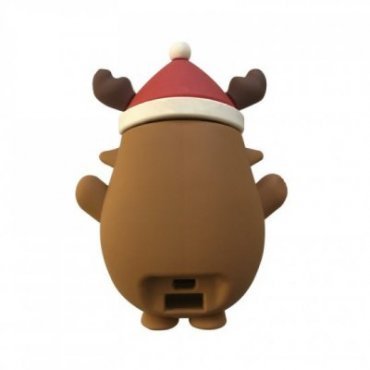 Christmas power bank with Rudolph the Red Nosed Reindeer design