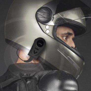 Mono wireless headset for helmet