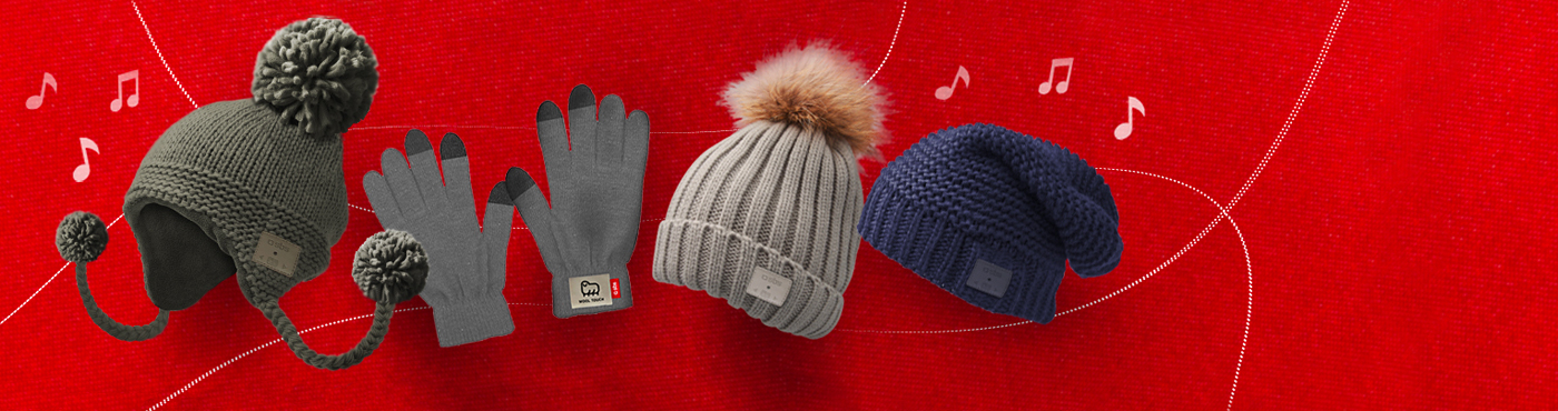 Cuffie, guanti touch e accessori invernali SBS