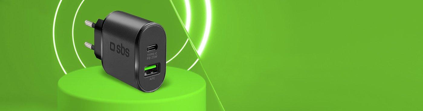Cargador de pared Power Delivery 25W