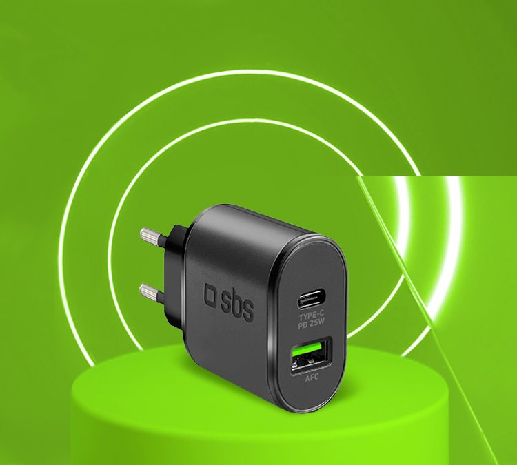 Chargeur Power Delivery 25W